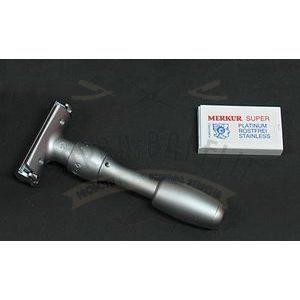 Rasoio da barba Merkur Solingen regolabile Deluxe 902000002