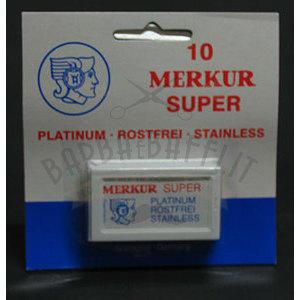 Lame Merkur Super 10 pz.