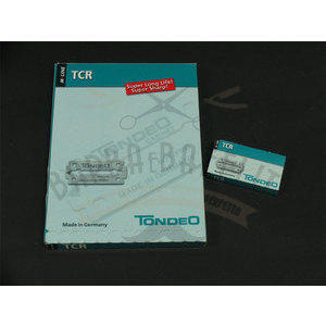 Lame TCR Tondeo 10 pacchetti da 10 lame ciascuno
