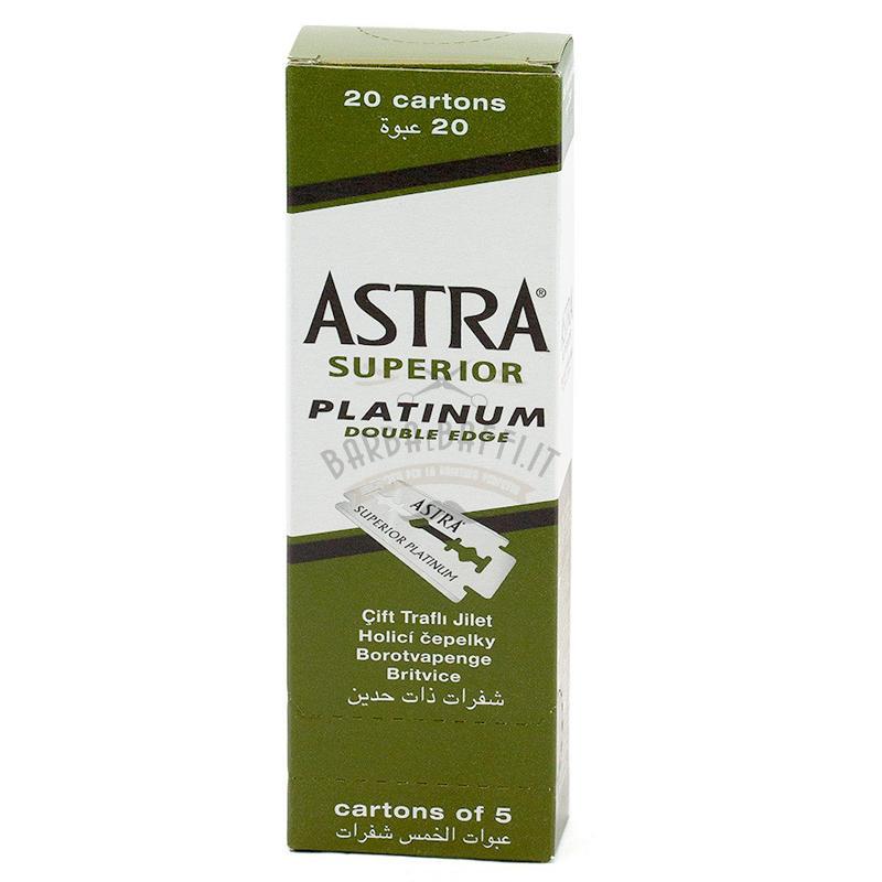 Lame Astra Superior Platinum 100 pz