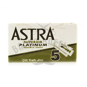 Lame Astra Superior Platinium pc 5 Lame