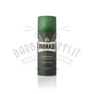 Schiuma da Barba Eucalipto e Mentolo Proraso Linea Verde 400 ml.