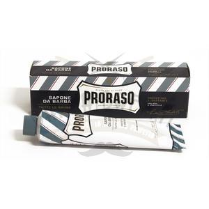 Sapone Barba Aloe e Vitamina E tubo blu Protettivo Idratante Proraso 150 ml
