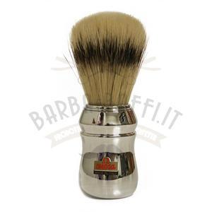 Pennello da barba professionale in pura setola – effetto tasso – Omega 20248