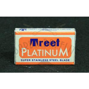 Lametta da barba Treet Platinum pacchetto 10 lamette