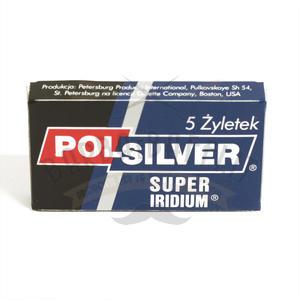 Lametta da barba Polsilver pacchetto 5 lamette