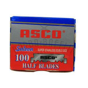 Lamette ASCO Saloon Half Blades pacchetto da 100 mezze lame