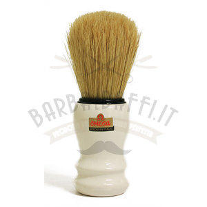 Pennello da barba professionale in pura setola Omega 10108