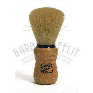 Pennello da barba Omega in fibra sintetica S-Brush Omega S10005