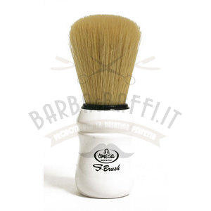 Pennello da barba in fibra sintetica S-Brush Omega S10049