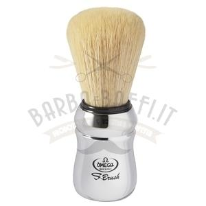 Pennello da barba in fibra sintetica S-Brush Omega S10083