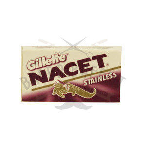 Lamette Gillette Nacet Stainless 1 pacchetto da 5 lame