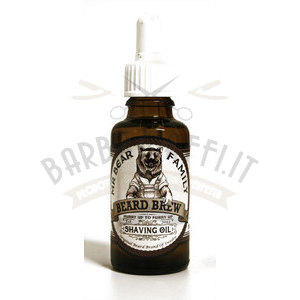 Beard Brew Shaving Oil 30 ml Mr Bear Family