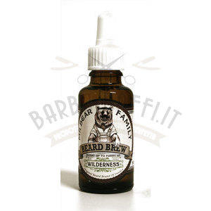 Olio da Barba Beard Brew Wilderness 30 ml Mr Bear Family