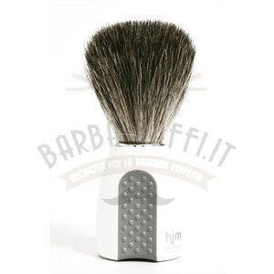 Muhle Pennello da Barba Tasso 181P8 manico bianco