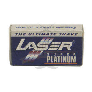 Lametta Laser Super Platinum Pacchetto 10pz
