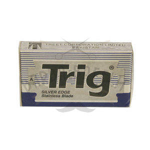 Lamette Trig Silver Edge 1 pacchetto da 10 lame BLU