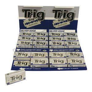 Lamette Trig Silver Edge stecca da 20 pacchetti BLU