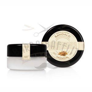 Mondial Crema Barba Ciotola 150 ml Sandalo