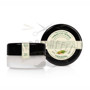 Mondial Crema Barba Ciotola 150 ml Tabacco verde