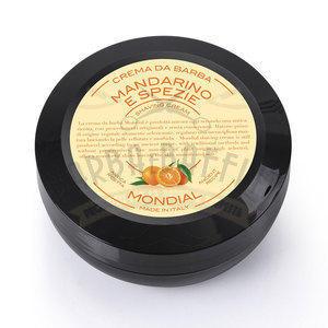 Mondial Crema da barba Mandarino e Spezie in versione travel vasetto 75 ml
