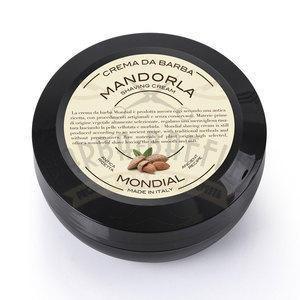 Mondial Crema da barba Mandorla in versione travel vasetto 75 ml