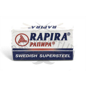 Lametta da Barba Rapira Swedish Supersteel pacchetto 5 lame