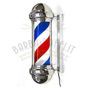 Insegna luminosa Barber Shop Vintage