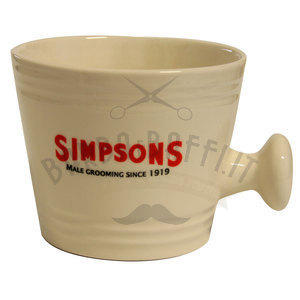 Ciotola da Barba in Ceramica Large Simpsons