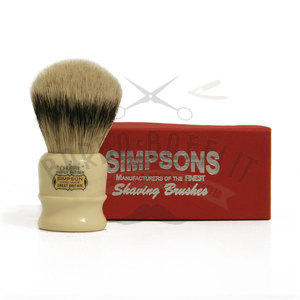 Pennello da Barba Chubby CH2 Super Badger Simpsons