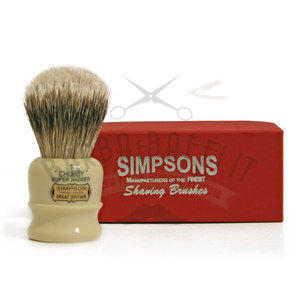 Pennello da Barba Chubby CH1 Super Badger Simpsons