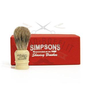 Pennello da Barba Wee Scott WS Best Badger Simpsons