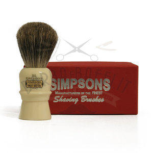 Pennello da Barba Beaufort B5 Pure Badger Simpsons Pennelli da barba Simpsons