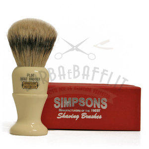 Pennello da Barba Polo PL14 Best Badger Simpsons Pennelli da barba Simpsons