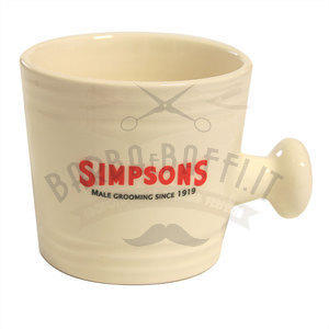 Ciotola da Barba in Ceramica Small Simpsons