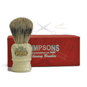 Pennello da Barba Case C1 Best Badger Simpsons