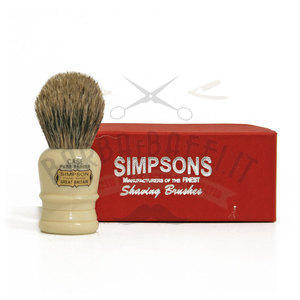 Pennello da Barba Case C1 Pure Badger Simpsons