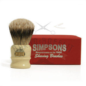 Pennello da Barba Chubby CH2 Best Badger Simpsons