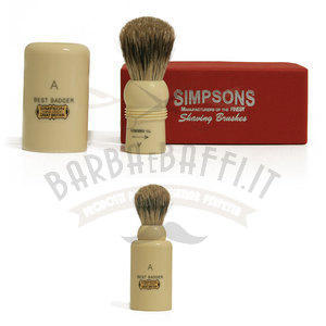 Pennello da Barba Major M1 Best Badger Simpsons