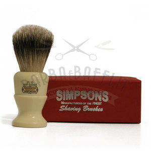 Pennello da Barba Polo PL10 Best Badger Simpsons