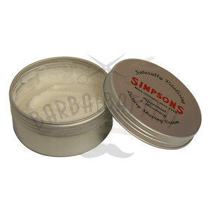 Crema da Barba Luxury Peppermint & Rosemary Simpsons 125 ml.