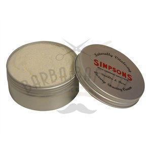 Crema da Barba Luxury Vanilla & Rose Simpsons 125 ml.