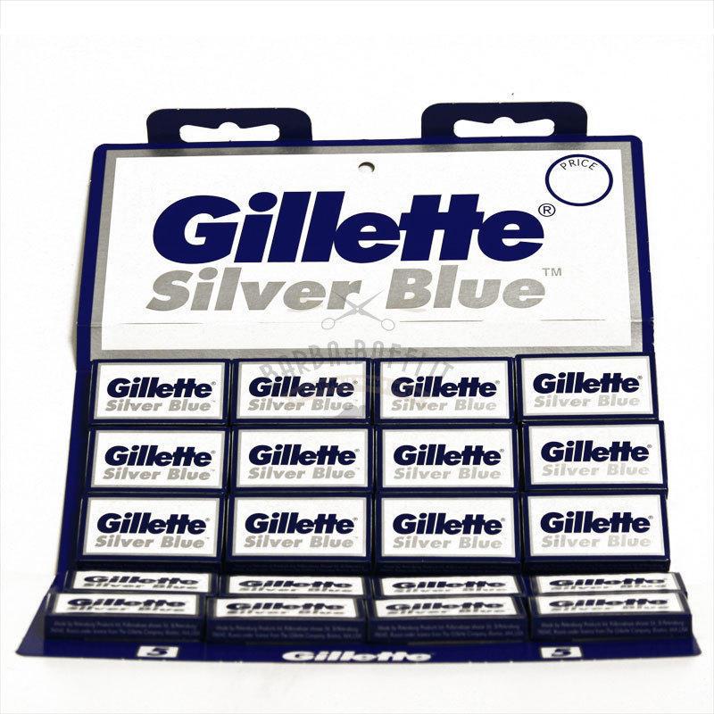 Lametta Gillette Silver Blue Stecca 20 Pc