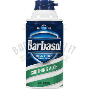 Schiuma Barba Barbasol Soothing Aloe 300 ml