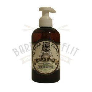 Beard Wash Wilderness 250 ml Mr Bear Family