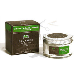 St. James Crema da Barba Cedro e Salvia 150 ml