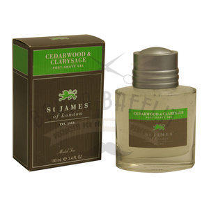 St. James After Shave gel Cedro e Salvia 100 ml
