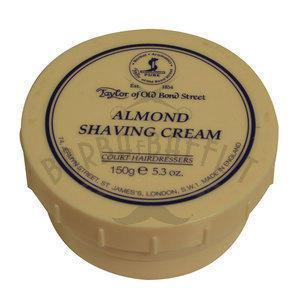 Crema da barba Almond Taylor ciotola 150 ml.