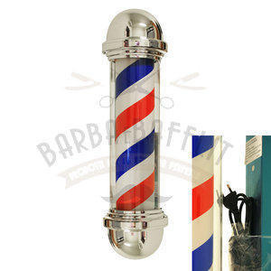Insegna luminosa Barber Shop Corta