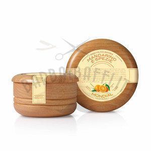 Mondial Crema da Barba Ciotola Legno Mandarino Spezie 150 ml
